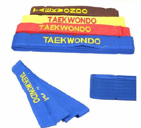 Picture for category Đai Thêu Taekwondo