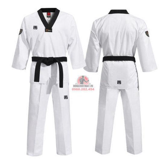 Ảnh của Võ Phục Taekwondo Hiệu Mooto Vải Kaki 03 Sọc