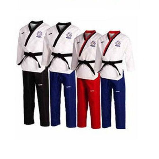 Picture of Võ Phục Quyền Taekwondo Vải Kaki Sọc