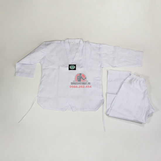 Ảnh của Võ Phục Taekwondo Vải Kaki Phong Trào