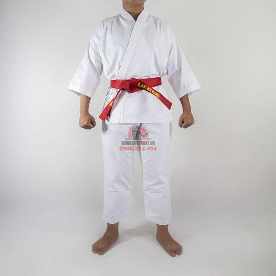 Ảnh của Võ Phục Karate Vải Kaki Dày
