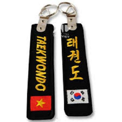 Ảnh của Móc Khoa Taekwondo Thêu Chữ