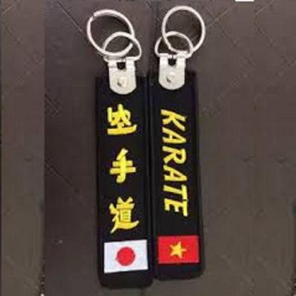 Ảnh của Móc Khoa Karate Thêu Chữ