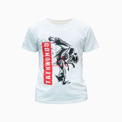 Ảnh của Áo Thun Taekwondo Vải Cotton 100%