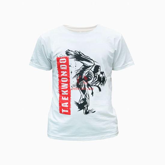 Picture of Áo Thun Taekwondo Vải Cotton 100%
