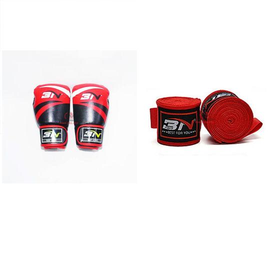 Picture of COMBO - Găng Boxing BN + Băng Quấn Tay BN 5 Mét