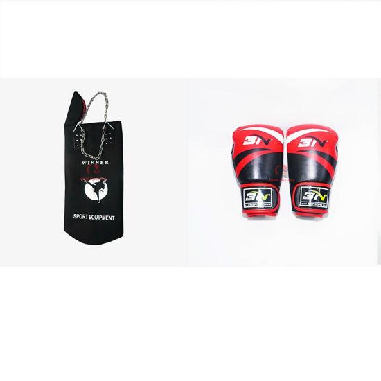 Picture of COMBO - Vỏ Bao Cát Dây Xích Winner + Găng Boxing BN